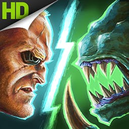 Soldier vs. Aliens - Hold your position and fight off waves of invading aliens! In Soldier vs. Aliens, it's you against the universe! - logo