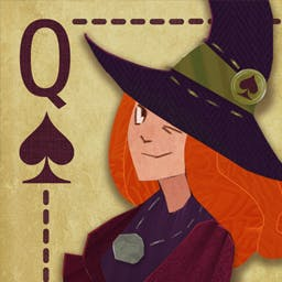 Solitaire Halloween Story - Match pairs of cards in Solitaire Halloween Story. Play 120 levels! - logo