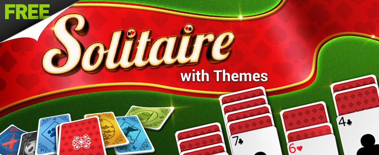 Solitaire with Themes - Use themes to make it YOUR game!