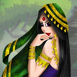 Solitaire Stories The Quest for Seeta - The trusted and faithful Laksman and Hanuman will aid you in this dangerous mission in Solitaire Stories: The Quest for Seeta! - logo