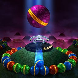 Sparkle 2 - Will you find the five enchanted keys?  Shoot and match orbs in this breathtaking puzzle game.  Unlock the secrets and beware the abyss in Sparkle 2! - logo