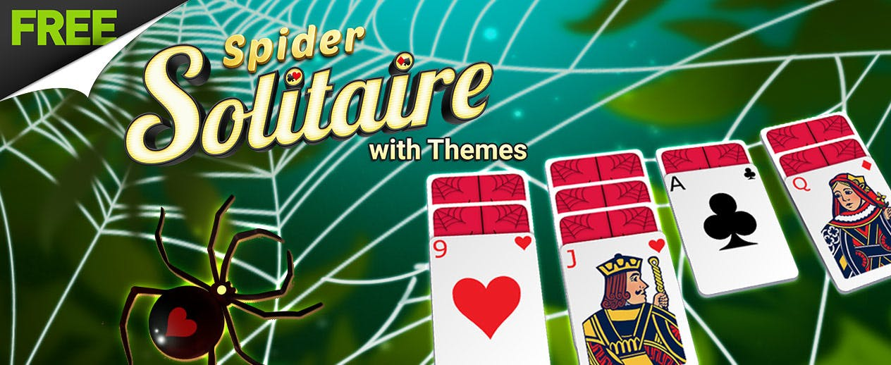 Spider Solitaire with Themes -  - image