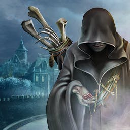 Spirit of Revenge Cursed Castle - What happened at Flatsbury Castle? Play the hidden object game Spirit of Revenge Cursed Castle! - logo