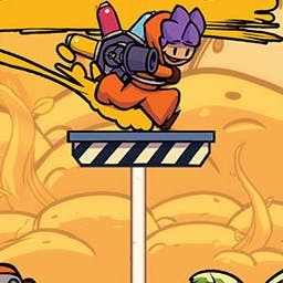 Splasher - Splasher is a 2D platformer with unique arcade/action gameplay. - logo