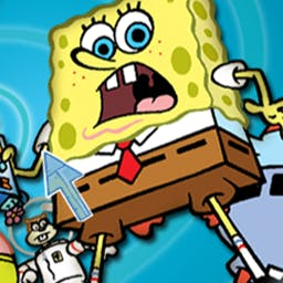 SpongeBob Obstacle Odyssey 2 - Foil Plankton's latest scheme to steal the secret Krabby Patty recipe! - logo