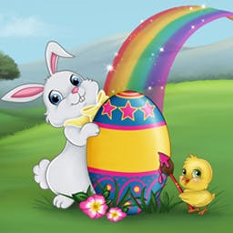 Spring Bonus - Spring is in the air! Hop around beautiful countryside with the Easter Bunny in Spring Bonus, an adorable match-3 game. - logo