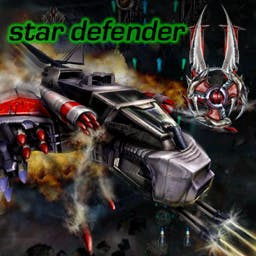 Star Defender 2 - Fly into the future aboard a deathly ship.  Can ensure the future? - logo