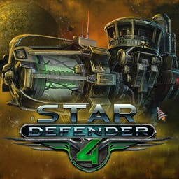 Star Defender 4 - The Insectus are plotting your celestial demise.  Can you save Earth? - logo