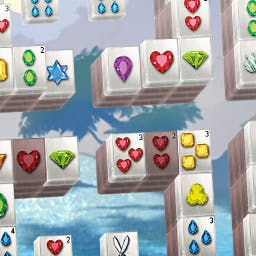 Summer Mahjong - Get ready for 60 levels of tile-matching, mini-game, hidden picture fun!  It's the season for Summer Mahjong. - logo