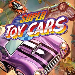 Super Toy Cars - Super Toy Cars is a tabletop arcade combat racing game featuring fast and cool looking cars and impressive tracks made of everyday objects. - logo