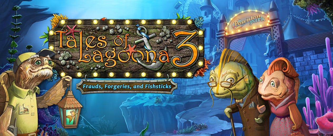 Tales of Lagoona 3: Frauds, Forgeries, and Fishsticks -  - image