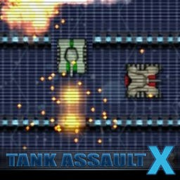 Tank Assault X - Get ready for an experience where it isn't enough to just be able to move or shoot quickly to survive battles. - logo