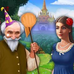 The Enchanted Kingdom - Elisa's Adventure - The Enchanted Kingdom - Elisa's Adventure is a delightful match 3 game! - logo