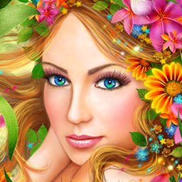 The Far Kingdoms: Garden Mosaics - Use your puzzle skills to solve mosaics and decorate your garden! - logo