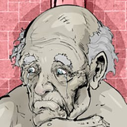 "The Grandfather - ""The Grandfather"" is a story driven point & click Puzzle/Horror game about torment and sorrow. - logo"