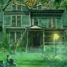 The Heritage - It's 1916 and you must flee to your grandfather's haunted manor in The Heritage, a hidden object game. - logo