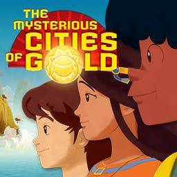 The Mysterious Cities of Gold - Play Esteban, Zia and Tao through numerous tricky levels full of puzzles, traps and infiltration phases in a wide variety of diverse gorgeous settings - logo
