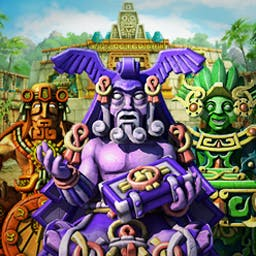 The Treasures of Montezuma 3 - Match groups of 3 or more tokens to unlock incredible riches in The Treasures of Montezuma 3! - logo