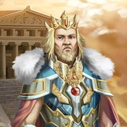 The Trials of Olympus - Help Angelo build a stunning palace in the match 3 game The Trials of Olympus. - logo