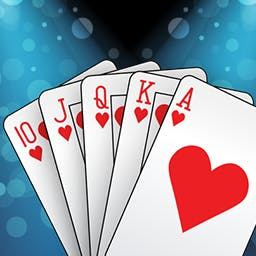 3 in 1 Cards - 3 in 1 Cards is the ultimate card game collection including Solitaire Pro, Blackjack Universe, and Texas Hold'Em Poker Extreme! - logo