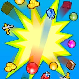 3 in 1 Match n Pop - 3 in1 Match n Pop is a jam-packed package, offering you three popular games in one place: Puzzle Warrior, Bublex Mania, and Swapper. - logo