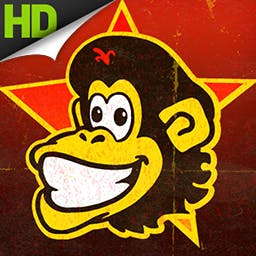 Tiki Towers 2 HD - Swing into action with an all-new set of primate puzzles in Tiki Towers 2: Monkey Republic in dazzling HD! - logo