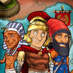 Tiny Token Empires™ - Tiny Token Empires™ is an amazing mix of puzzles, Match-3, and turn-based strategy. But it also takes place in a crazy, comical universe! - logo