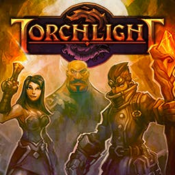 Torchlight - Torchlight is a fantastic action-RPG from the creators of Diablo and FATE. - logo