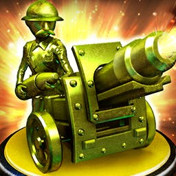 Toy Defense - Test your courage and skills as a World War I military leader in the tower defense game Toy Defense! - logo