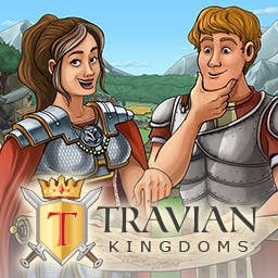 Travian Kingdoms - Will you focus on the military or the economy in the online strategy game Travian Kingdoms? - logo