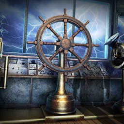 The Treasures of Mystery Island: The Ghost Ship - Mystics, aliens, and ghosts come together in The Treasures of Mystery Island: The Ghost Ship, a piping hot hidden object adventure! - logo