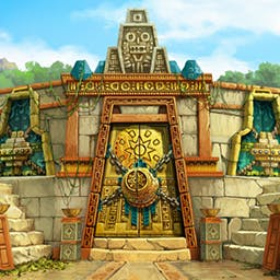 Treasures of Montezuma 3 - Brave the dangers of a forgotten jungle and discover an ancient palace! - logo
