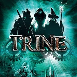 Trine - Trine is an expansive 3D game featuring puzzles with multiple solutions. - logo