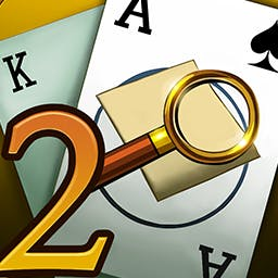 True Detective Solitaire 2 - You're on the case. Catch the criminals by solving 120 solitaire levels in True Detective Solitaire 2! - logo