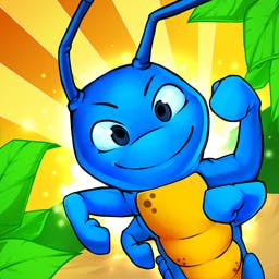 Turbo Bugs 2 - If your bug faster than the competition? Play the arcade game Turbo Bugs 2 today! - logo