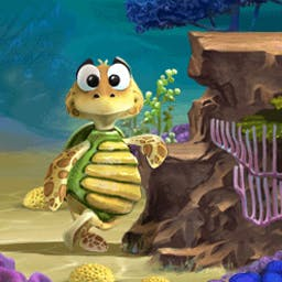 Turtle Odyssey 2 - Turtle Odyssey 2 is 50 levels of beautiful, classic arcade action. - logo