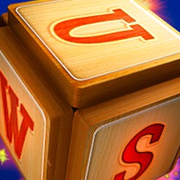 Ultimate Word Search 2: Letter Boxed - Cubes put a fun twist on traditional word searches!  In Ultimate Word Search 2: Letter Boxed - search for words on all 6 sides of a cube! - logo