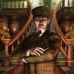 Victorian Mysteries®: The Yellow Room - Explore how a murderer's mind works in Victorian Mysteries®: The Yellow Room. Within multiple mini games, play today to solve the puzzle! - logo