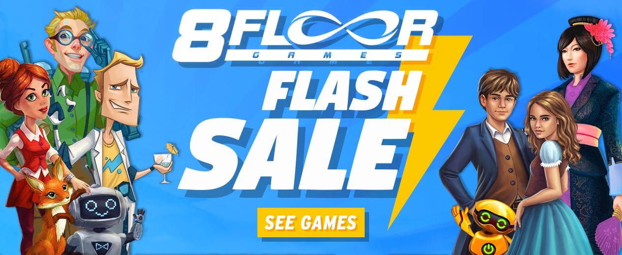 8Floor Flash Sale - Save up to 40% on all 8Floor Games! - image