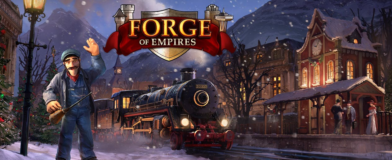 Forge of Empires - Come build your city and celebrate the season! - image