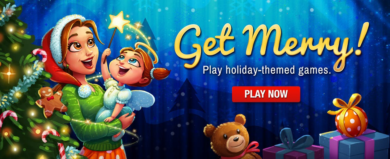Get Merry! Play great holiday games!