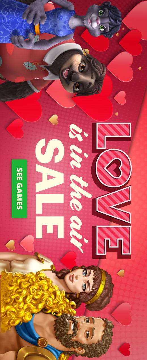 Love Is In The Air Sale - Get up to 40% off select Jet Dogs titles this weekend + wild Members get up to 60% off! - image