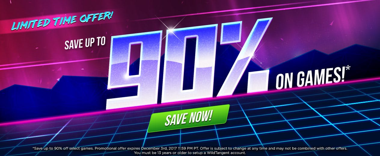 Limited Time Offer! - Save up to 90% on Games! - image
