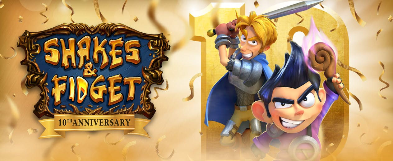 Shakes & Fidget - Play The Award-Winning MMORPG - image