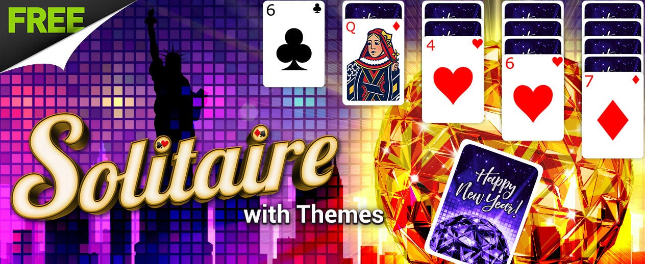 Solitaire with Themes - New Fall & Halloween Themes! - image