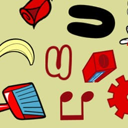 Where's My What - Where's My What is a simple yet highly addictive game where you must identify and select a certain number of items on the screen before time runs out! - logo