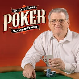 World Class Poker with T.J. Cloutier - Earn enough money to really test yourself by entering into the No Limit Texas Hold'em Main Event! Play World Class Poker with T.J. Cloutier now. - logo