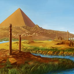 World Riddles 2: Seven Wonders - Dive into the world of ancient cultures in World Riddles 2: Seven Wonders, a fun puzzle game! - logo