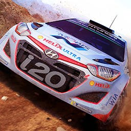 WRC 5 FIA World Rally Championship - Find all the cars, all the drivers and all the official rallies of the 2015 FIA World Rally Championship in THE racing simulation standard. - logo