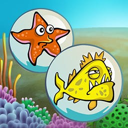 Zappers - Pop the right bubbles. Watch the shock waves. Blast the bubbles. Play the arcade game Zappers today! - logo
